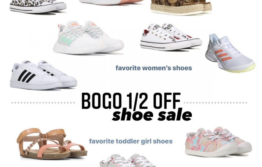 BOGO 1/2 Off Shoe Sale!!