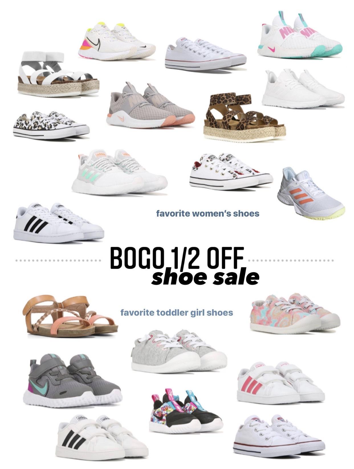BOGO 1/2 Off Shoe Sale!!
