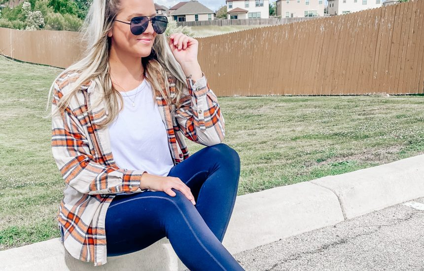 How to Style a Fall Flannel